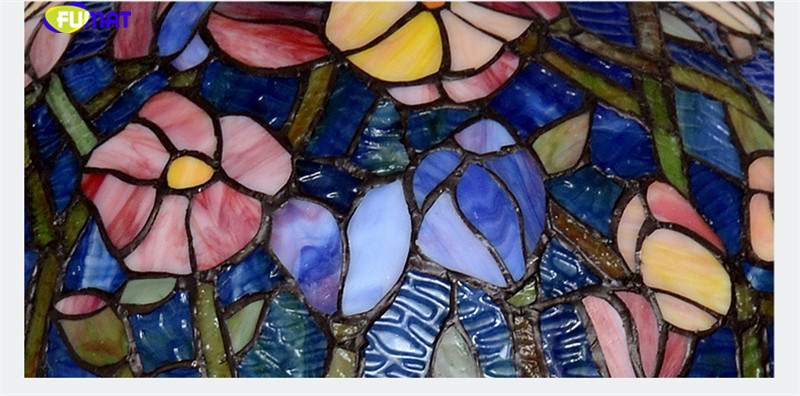 12Tiffany bombax Stained Glass Pendant Lamps