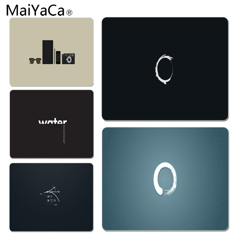 MaiYaCa Non Slip PC Minimalistic Wrong Customized laptop Gaming mouse pad Size for 18x22cm 25x29cm Rubber Mousemats