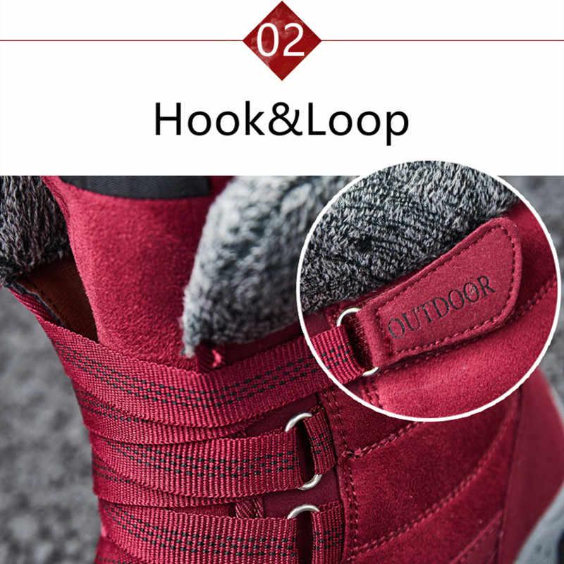 STS/новинка 2015 года; Модные женские зимние ботинки из замши; зимние теплые плюшевые женские ботинки; водонепроницаемые ботильоны; обувь на плоской подошве; Размеры 35-42