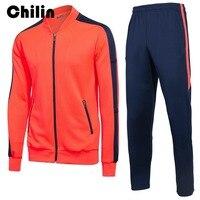 الرجال الرياضة تناسب الربيع الخريف رياضية ملابس رياضية الذكور سستة الرياضية سترة طويلة الأكمام اللياقة outdoor السراويل g005