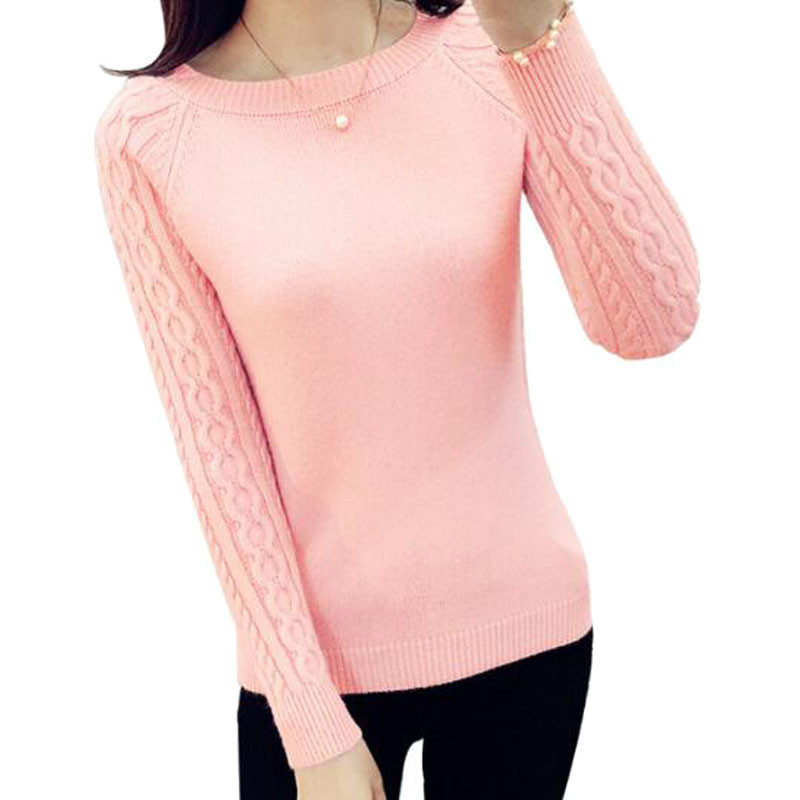 Women Sweaters And Pullovers 2017 Autumn Winter Long -6013