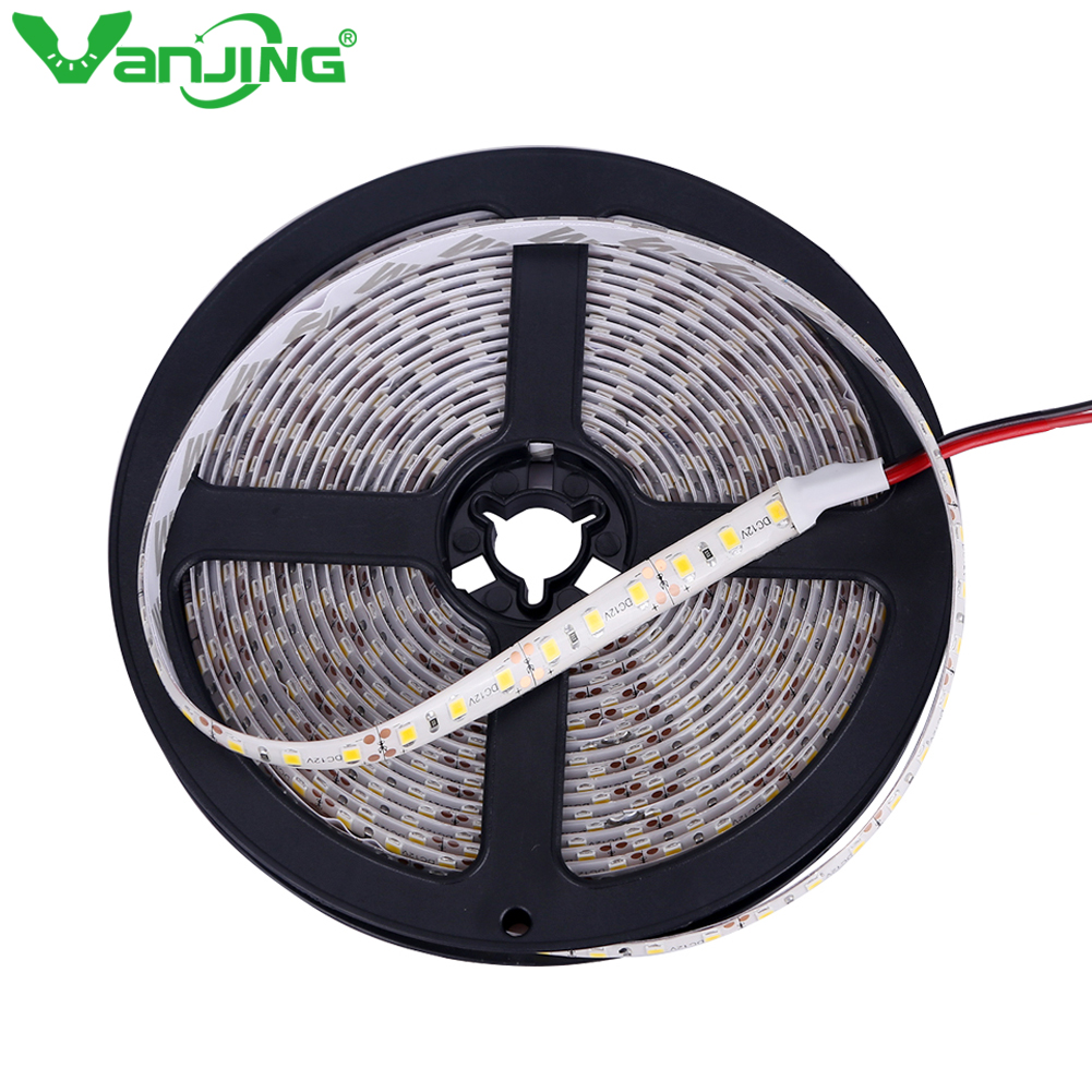 LED Strip Light 2835 120 LED/m IP65 Waterproof DC12V Flexible LED Light 5M 600led LED Strip Waterproof