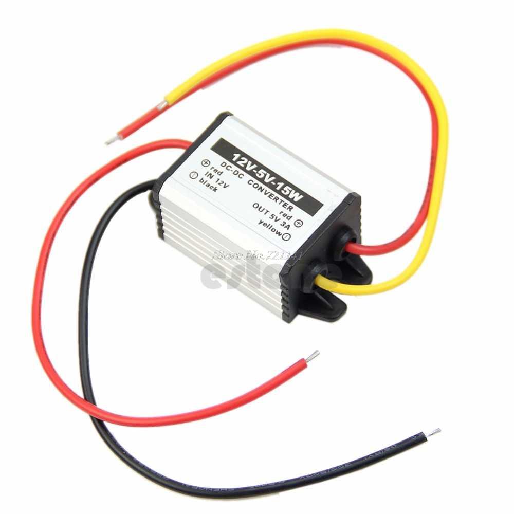 12V to 3//3.3//3.7//5//6//9V Power Supply Module Waterproof DC to DC buck Converter n