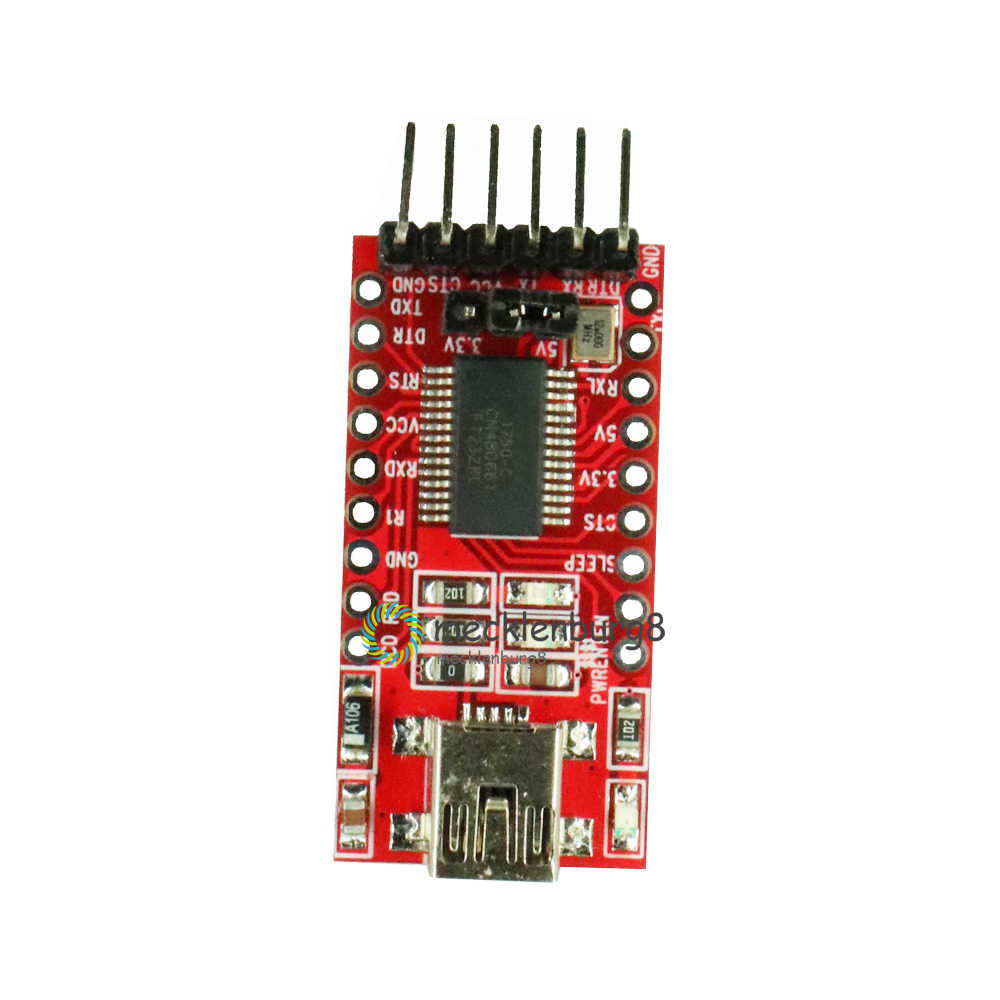 FT232RL FT232 FTDI の USB ttl 3.3 V 5.5 V シリアルアダプタボードモジュール Arduino のミニポートとコネクタトランスミッタ TTL サイン