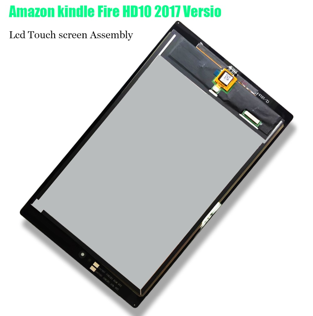 100% new for kindle Fire HD10 2017 Version 10.1 LCD Display Touch Screen Digitizer For Fire HD 10 2017