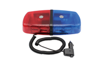 Red Blue 36 LED Car Truck Light Bar Roof Top Emergency Hazard 12V Oval Flash Strobe 18W beacon Warning Lamp Red/Blue 36LED