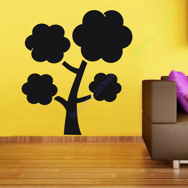 large tree wall stickers home decor Chalkboard blackboard home ...