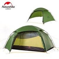 Naturehike Outdoor Camping Tent Ultralight 2 Persons Tent Hiking Climbing Windproof Rainproof Aluminum Rod Waterproof Coating
