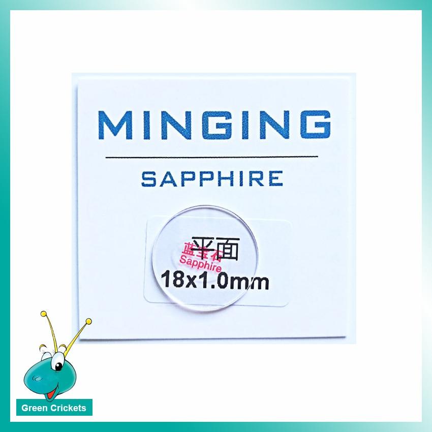 Hart Arbeitend 1 Paare/los 1,0mm Dicke 14mm-22,5mm Sapphire Uhr Glas Uhren Transparent Saphir Uhr Glas Für Ersatz Seien Sie Im Design Neu Uhrenzubehör
