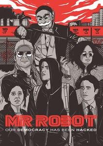 0888B мистер робот рами Малек хакеры сезон 2 США ТВ-стикер Шелковый плакат свет холст украшение