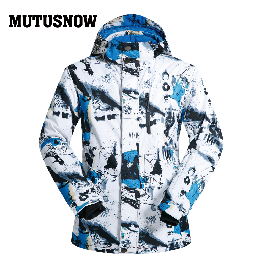131c7c3160 Ski Jackets Brands 2018 Men Snow Ski Jacket Windproof Waterproof Breathable  Warm Male SMH Clothes Winter Men s Snowboard Jacket