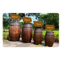 Free ship Hight Bar Barrel Red Wine Barrel Liquor Wine Bladder Christmas gift Wooden barrel Props barrel Film props keg bucket