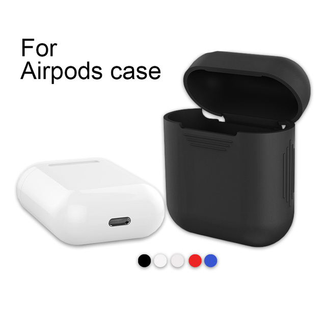 For Apple Airpods Silicone Case Protective Cover Pouch