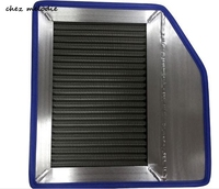 304 Stainless steel washable reusable high performance air filter for Honda Civic 8 1.8, increasing horsepower & accelaration