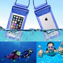5.5 inch universal waterproof bag Case for iphone 7 6 6S For Xiaomi Redmi Note 3 4 4X Pro Special Edition SE For Huawei P8 Lite