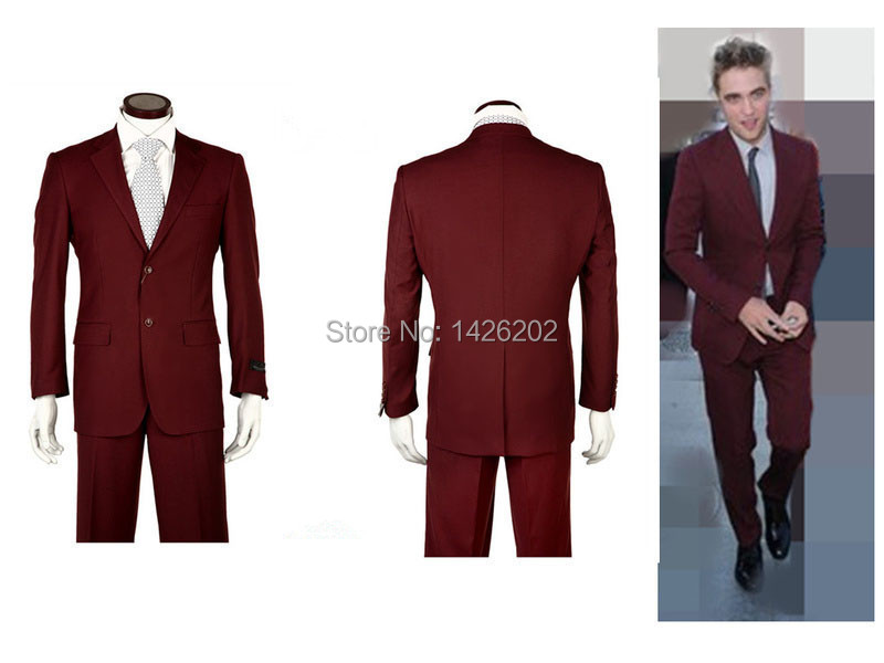 Online Shop New Style Mens Dress Suit Business Men's Suit Two ...