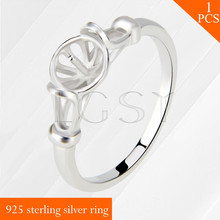 Free shipping LGSY multiple sizes 6/7/8 simple 925 sterling silver ring accessory 1 piece