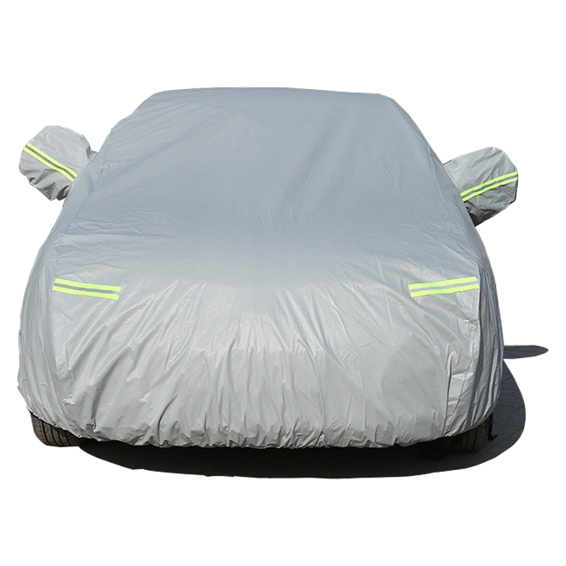Image 3 - Car Covers For Mazda 2 3 6 8 Sedan Hatchback With Side Door Opening Dustproof Sun Shade Hood Full Cover Sun Protector-in Car Covers from Automobiles & Motorcycles