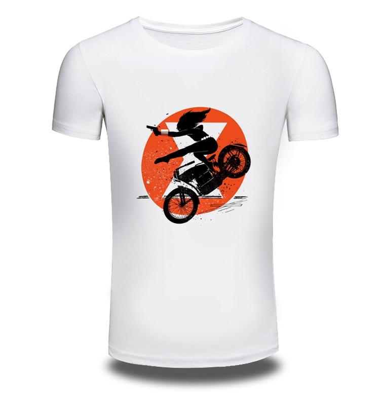 Brand Clothing Anime 3D Print Men Short Sleeve T Shirt Men Shirts Motorcycle Girl T-shirt Off White Summer T-shirts Sale AW235