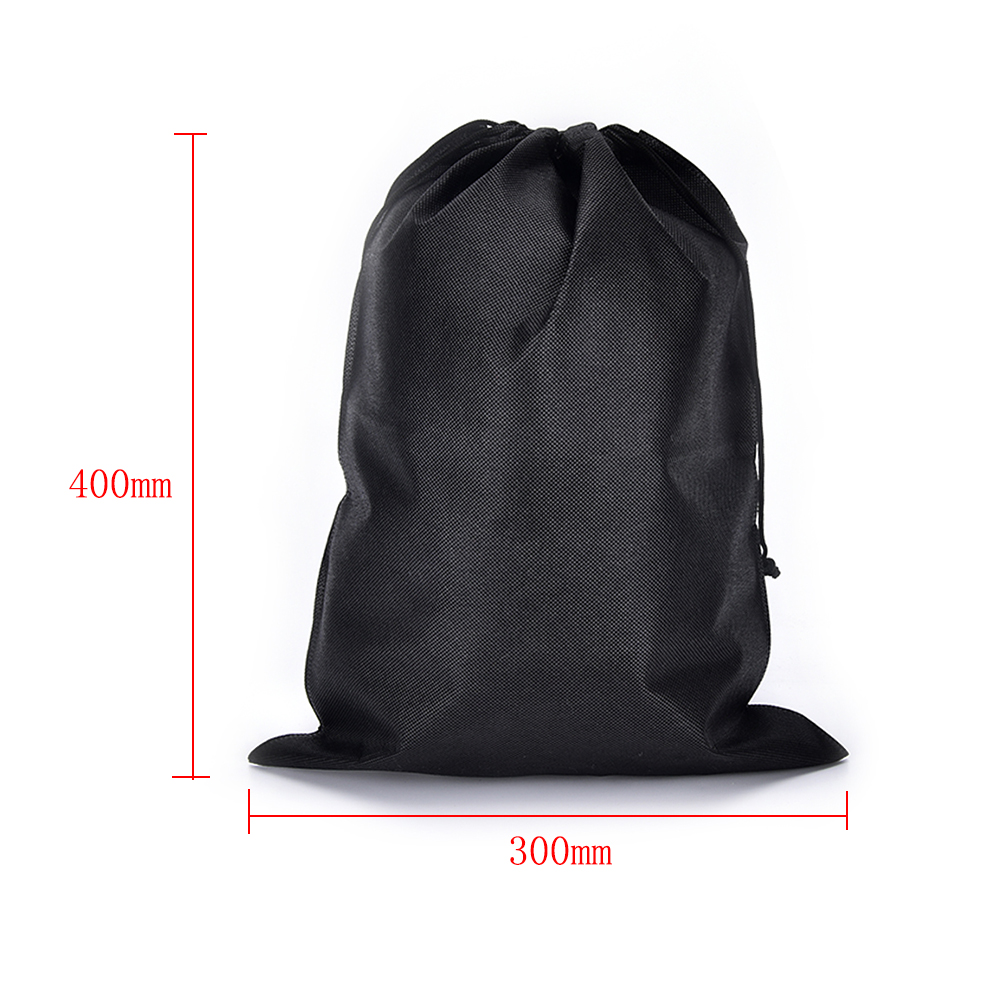 2pcs/lot Drawstring Bags Non-woven Bag Cloth Storage Bags Shoe Container Storage Dust Proof Bags For Shoes 300*400mm