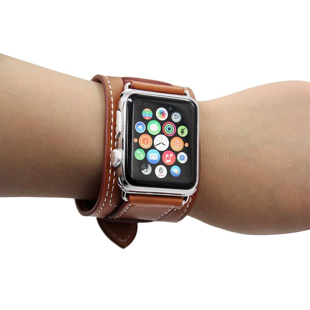 Apple Watch Cuff bracelet Brown 2