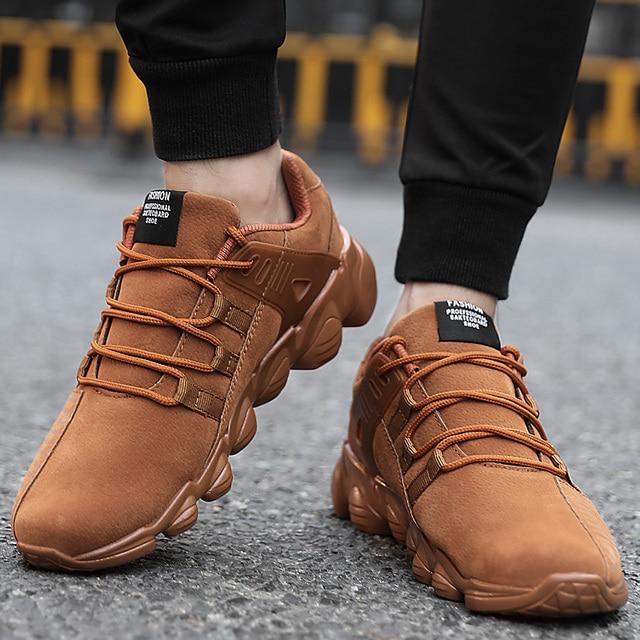 UBFEN Hot selling fashion Casual Schoenen Voor Mannen comfortabele schoenen herfst/winter warm zwart geel casual Mannelijke Schoenen Plus Size