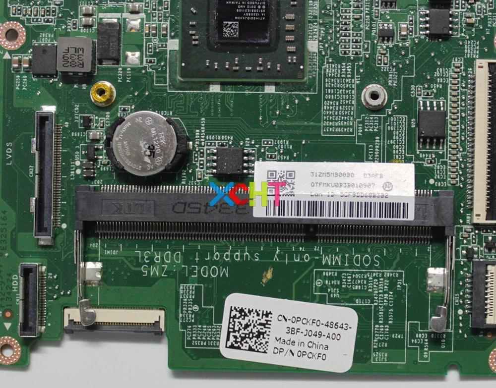 Image 3 - for Dell Inspiron 3135 CN 0PCKF0 0PCKF0 PCKF0 DA0ZM5MB8D0 w A6 1450 CPU Laptop Motherboard Mainboard Tested-in Laptop Motherboard from Computer & Office