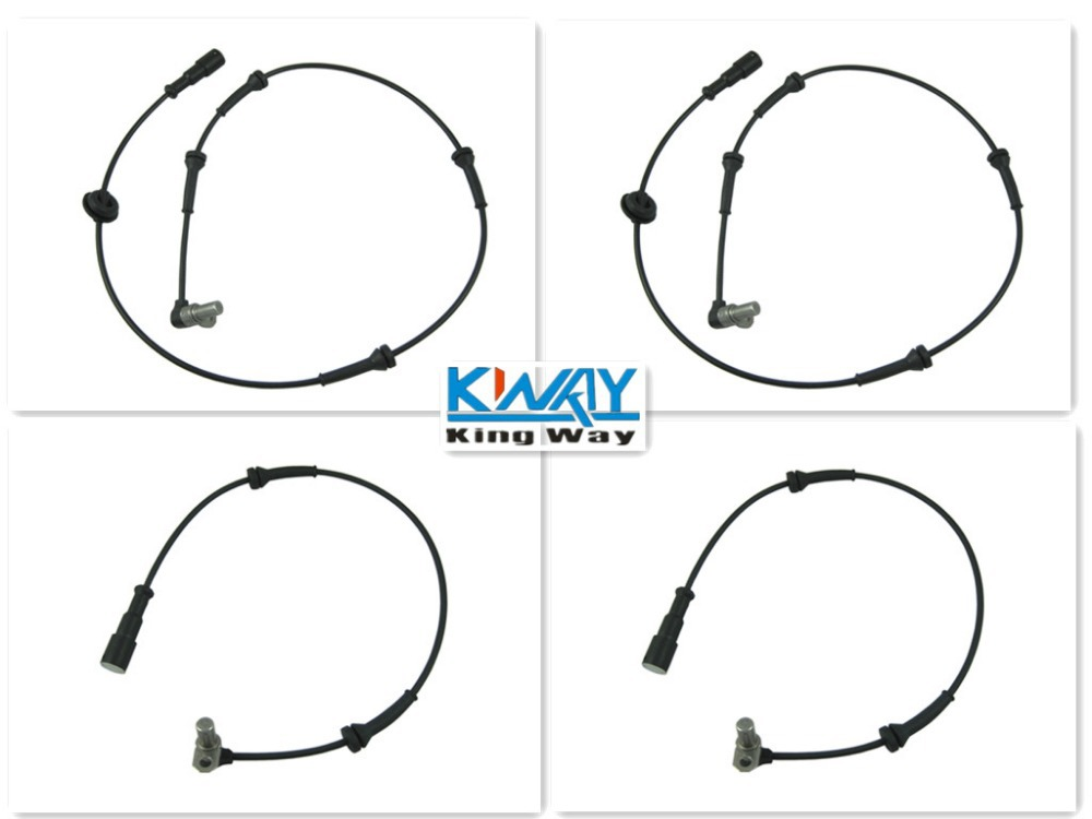 ABS WHEEL SPEED SENSOR FRONT REAR LEFT RIGHT FOR LANDROVER DISCOVERY 2 II NEW 4 Pcs