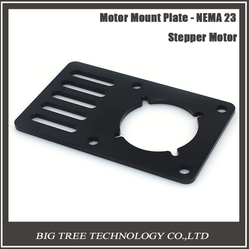 3D Printer part Motor Mount Plate for NEMA23 for Openbuilds V-Slot 90*60*3mm for CNC&Kossel with free shipping 3D0270 1pcs openbuilds motor mount plate for nema 17 82 39 5 3mm aluminum alloy cnc special fixing plate for 3d printer