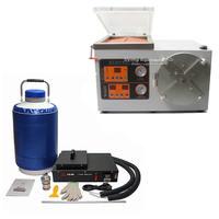 full set mobile lcd repair OCA laminating machine FS 06 liquid nitrogen frozen Separator Bubble defoamer