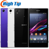 Original Sony Xperia Z1 L39H C6903 GSM 4G Android 5.0 Touchscreen 20MP 1080P Quad Core 2GB RAM 16GB Storage WIFI Mobile Phone