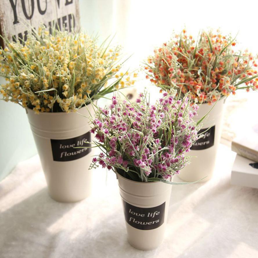 Artificial Fake Flowers cheap Milan Yangmei Floral Home Decor garden wedding Bouquet decoration plastic flower plants nt0