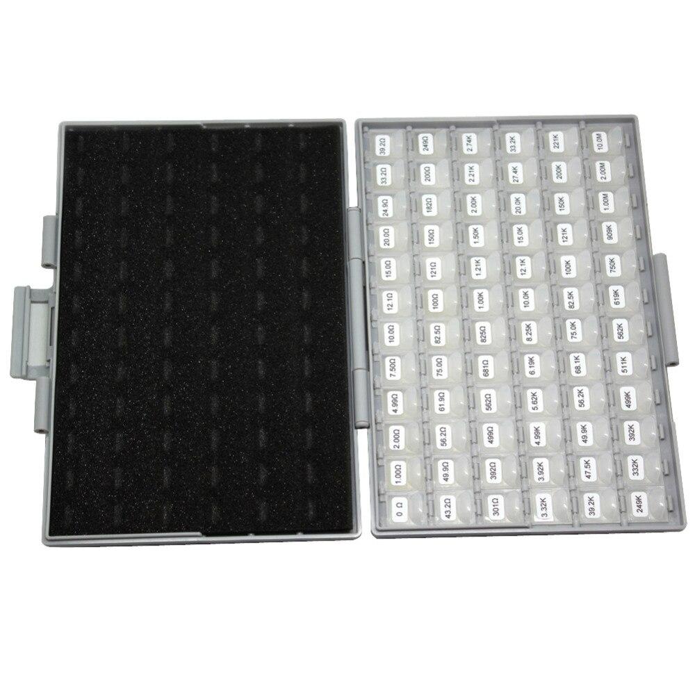 AideTek 0201 suurus 72 väärtused 100 tk / väärtus takisti - Tööriistade hoiustamine - Foto 6