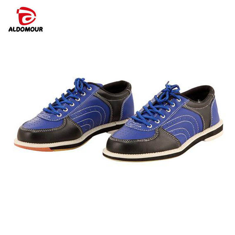 ALDOMOUR Bowling Shoes Brands 2018 Domestic Exports To High Quality Unisex Bowling Shoes With Skid proof Sole Sneakers Hombre цена