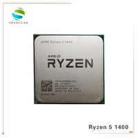 New AMD Ryzen 5 1400 R5 1400 3.2 GHz Quad Core CPU Processor YD1400BBM4KAE Socket AM4