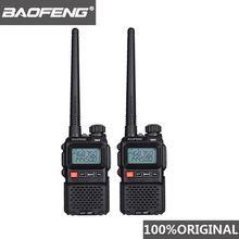 Рация baofeng uv 3r + mini walkie talkie plus 2 шт 2019