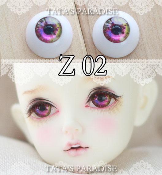 BJD eyes12mm 14mm 16mm 18mm 1 Pair of Eyes Eyeballs Doll Accessories Doll Eyeballs Z02