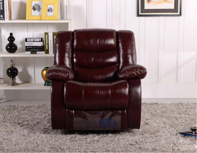Leather Swivel Recliner Chair 3