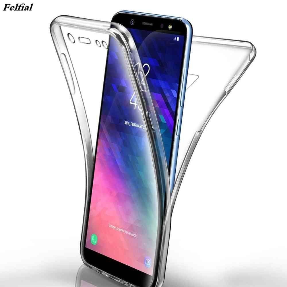 360 Degree Full Body Clear Case for Huawei Honor Mate 20 10 Lite P8 Lite 2017 p30 P20 P10 P9 mini P Smart 2019 Soft TPU Cover