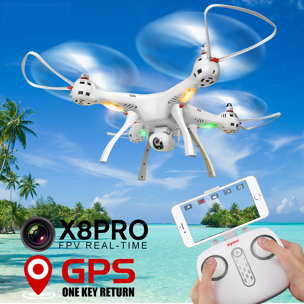 Large profession RC Quadcopter X8PRO X8 PRO 50cm Altitude hold GPS Positioning WIFI FPV RC DRONE With 720P HD Camera vs B6 B2w
