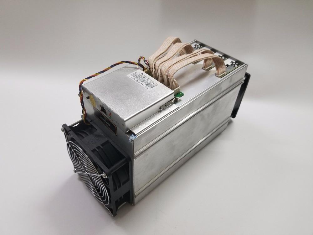 YUNHUI Used ANTMINER L3+ 504M Scrypt Miner LTC Mining Machine 504M 800W Better Than ANTMINER L3