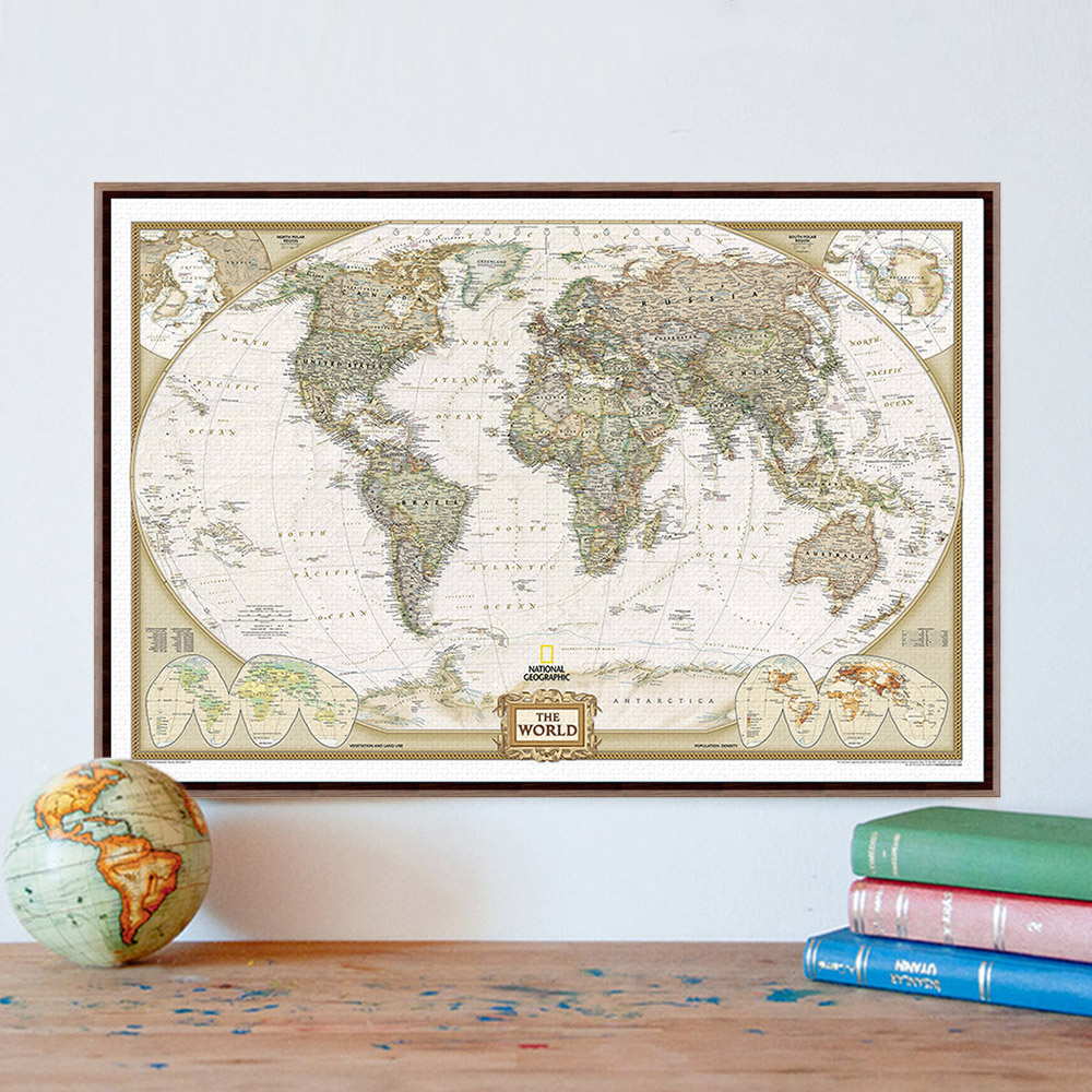 World Map Home Decor Compare Prices On World Map Letters Canvas Online Shopping Buy