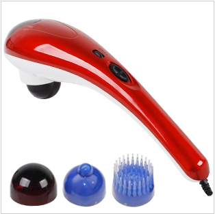 Dolphin massage stick vibration massage hammer multifunctional electric massage device neck massage equipment