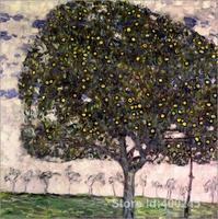 Artwork By Gustav Klimt The Apple Tree II Oil Paintings Reproduction High Quality Hand Painted