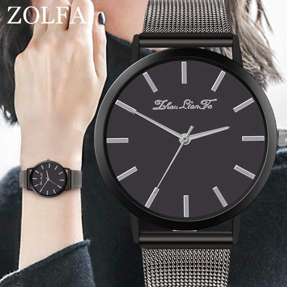 2020 ساعة فاخرة للنساء Reloj كوارتز ساعة اليد الزجاج الأزرق الحياة مقاوم للماء متميزة Zegarek Damski الأعمال Relogio الساعات