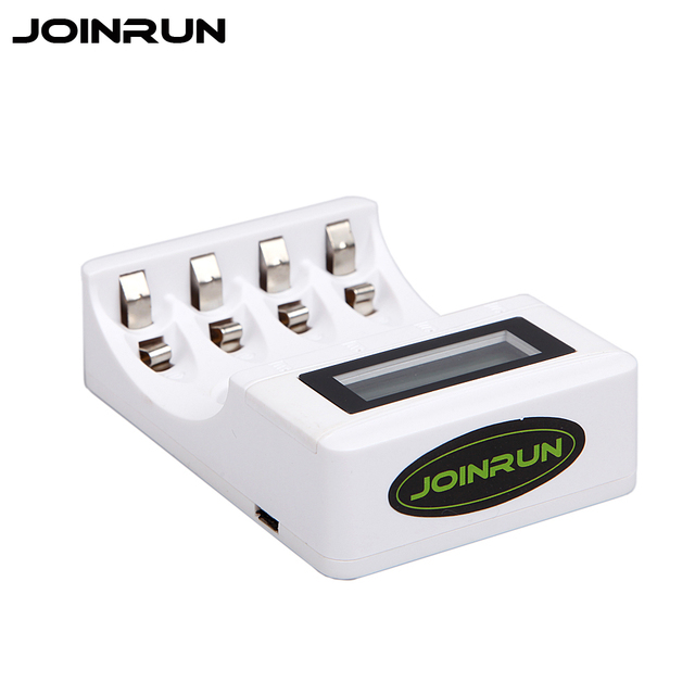 Original Joinrun PL NC07 Battery Charger LCD Display USB For AA AAA Ni Cd Mh Rechargeable Batteries