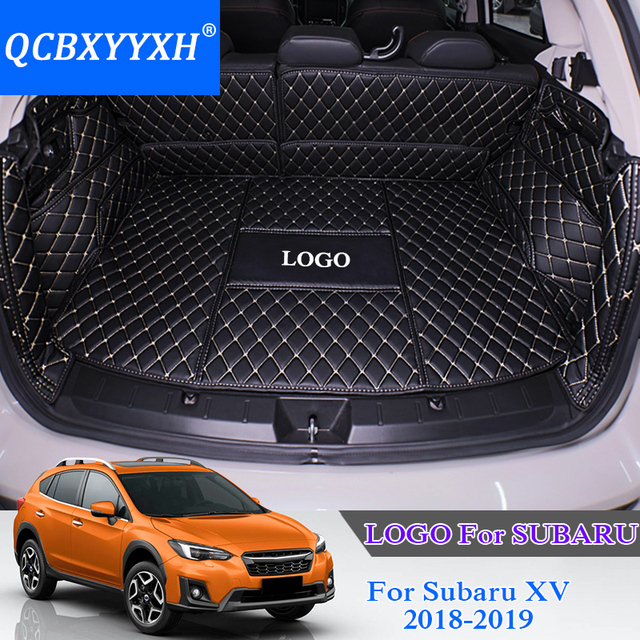 US $169 99 15% OFF|QCBXYYXH For Subaru XV 2018 Car Boot Mat Rear Trunk  Liner Cargo Floor Carpet Tray Protector Accessories Sticker Dog Pet Cover  on