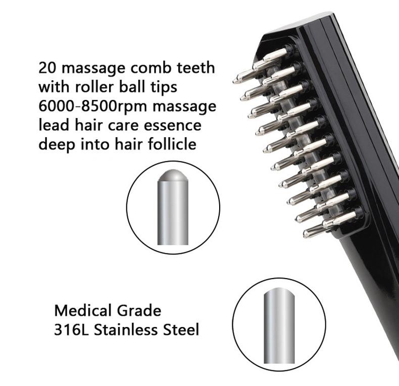 de cabelo promover o crescimento do cabelo