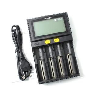 Image 5 - מקורי Miboxer C4 LCD חכם סוללה מטען עבור ליתיום IMR INR ICR LiFePO4 18650 14500 26650 16340 AAA AA סוללות 100 1500mA