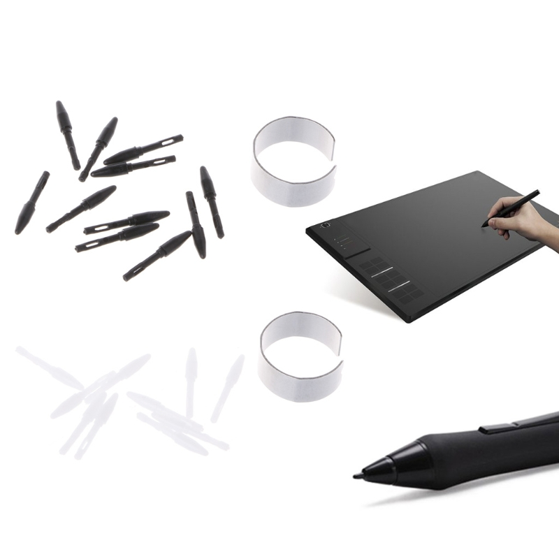10-pack Replacement Pen Nibs Pen Tips Just For Huion Digital Graphics Tablet